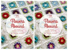 Flowers Abound : 20 Floral #Crochet Patterns ebook | @spincushions
