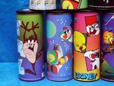 As camisetas da Side Play que vinham em latas divertidas. | 55 imagens que resumem perfeitamente a sua infância
