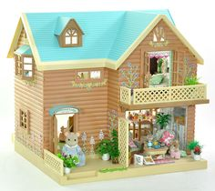 *fistuff* Sylvanian Families Decorated Large House, Furniture, Accessories Lots!