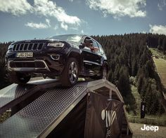 Jeep X Red Bull 400: Unser Jeep Grand Cherokee auf dem Jeeo Offroad Parcours