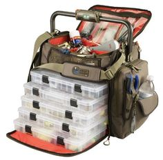 Wild River by CLC WT3702 Tackle Tek Frontier Lighted Bar Handle Tackle Bag with Five PT3700 Trays - http://bassfishingmaniacs.com/?product=wild-river-by-clc-wt3702-tackle-tek-frontier-lighted-bar-handle-tackle-bag-with-five-pt3700-trays
