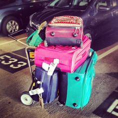 This is how team GG travels for the holidays!