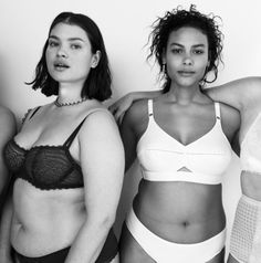 """Fresh off its discovery of the butt, Vogue has realized the glory of big boobs. Today, Vogue published an online lingerie editorial featuring cup sizes not commonly found in its print edition. """"My kind of #supermodels,"""" photographer Cass Bird wrote on Instagram."""