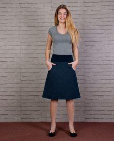 WohltäTig Sommer Kinder Mädchen Mode Elastische Taille Jeans Röcke A-linie Blume Denim Mini Rock Casual Sommerkleid Outfits Mutter & Kinder