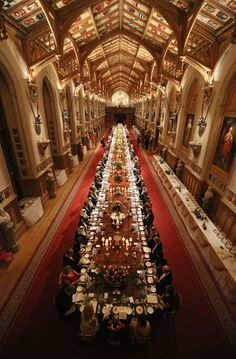 The Great Hall. Windsor Castle