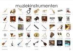 muziekinstrumenten plaat