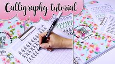 Calligraphy writing tutorial