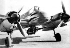Henschel Hs-129 with 37mm cannon.