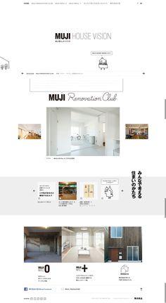 Website Layout, Web Layout, Layout Design, Minimal Website Design, Muji Home, Muji Style, Poster Layout, Catalog Design, Web Design Inspiration