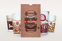 """""""The fast-food king sought to universally expand its appeal across various international markets by minimizing the use of copy and adding more emphasis to their products. The result was a bold, illustrative approach at showcasing some of their more popular menu items."""""""