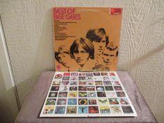 Bee Gees vinyl - Best of Bee Gees - Original -  Vintage album in Excellent Condition