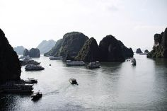 HALONG BAY - VIETNAM   #nature #adventure #summer #Vietnam #travel #asia #mountains #beautiful #ocean #beach #halongbay