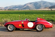 1954 Ferrari 750 Monza Spyder For Sale Side