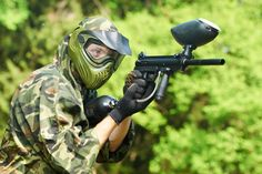 Paintballing, Lunch & 100 Paintballs