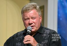 """William Shatner Says He's Ready To Play Kirk Again: """"I'm perfectly fit and ready to put on some makeup… The problem I guess is what do you do with an aging captain whose youthful existence is already there? Captain Janeway, Star Trek News, Star Trek Characters, William Shatner, Old Tv Shows, Ready To Play, The Man, In This Moment, Actors"""