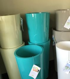 All shapes, sizes & colours. Grand Opening, Pots, Colours, Shapes, Canning, Pottery, Home Canning, Cookware, Jars
