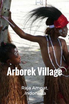 Arborek Village in Raja Ampat, Indonesia