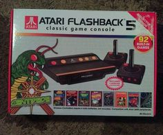 #atari flashback 5 classic game special edition with 92 built in games amazing from $69.0