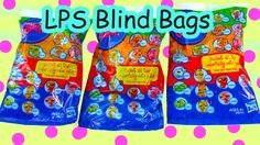 LPS Colorfully Cute Blind Bag Mystery Littlest Pet Shop Toy Review Openi...