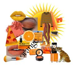 """""""Orange Beauty"""" by prettyroses ❤ liked on Polyvore featuring beauty, Bobbi Brown Cosmetics, Lime Crime, Jeffrey Campbell, Beauty Is Life, MAC Cosmetics, Rimmel, Paloma Barceló, âme moi and Miu Miu"""