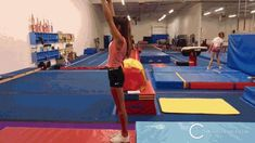 22 drills to help you master the standing back handspring in the fastest and most efficient manner without mental blocks! Gymnastics Lessons, Boys Gymnastics, Gymnastics Floor, Tumbling Gymnastics, Gymnastics Coaching, Back Handspring Drills, Flick Flack, Acro, Fitness Diet