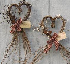 Heart Shaped Grapevine Wreath