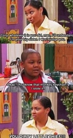 That's so raven...this is so funny!