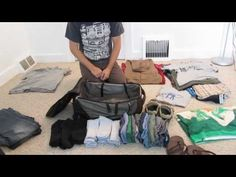 How to pack a bag is something all travelers MUST know. This is one of the BEST things I've seen.