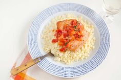 BEAUTY FOODS RECIPE: Sautéed Salmon With Fresh Tomato and Basil Over Couscous #BeautyFoods    Our Beauty Food menu with @MeLisa Carson is nutritionist-approved. Get these ready-to-cook meals delivered to your door!