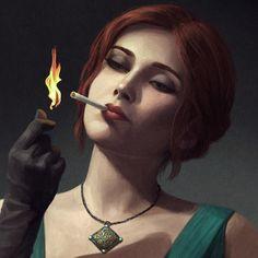 Modern Witcher Noir on Behance