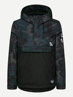 New Arrivals On Sale - New Mens Jackets & Coats - Page 5 Bomber Jacket Outfit, Anorak Jacket, Best Casual Shirts, Men's Coats And Jackets, Cool Hats, Mantel, Camo, Mens Fashion, Hoodies