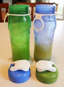 Home made Gatorade with NO food coloring and much healthier all around!