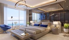 55 Modern And Stylish Young Boys Room Designs – Dream bedroom Modern Luxury Bedroom, Luxury Bedroom Design, Master Bedroom Interior, Room Design Bedroom, Luxury Home Decor, Luxurious Bedrooms, Dream Bedroom, Home Decor Bedroom, Interior Design