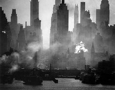 Vintage New York....lower manhattan