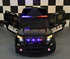 Elektrische kinderjeep Police 12V 2.4G rc Jeep, Vehicles, Jeeps, Cars, Vehicle