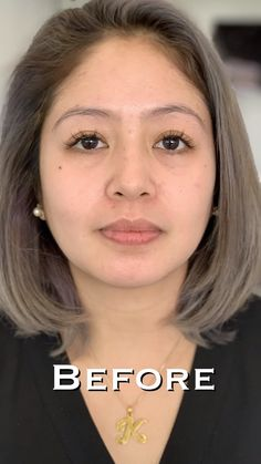 Ombré powder process: before / after – microblading Eyebrow Makeup Tips, Permanent Makeup Eyebrows, Beauty Makeup, Perfect Eyebrows Tutorial, Eyebrow Tutorial For Beginners, Mircoblading Eyebrows, Eyeliner, Eyebrow Before And After, Eyebrow Tattoo