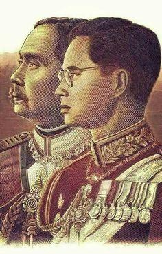 King Phumipol, King Rama 9, King Of Kings, King Queen, King Thailand, Queen Sirikit, Bhumibol Adulyadej, Great King, Rodin