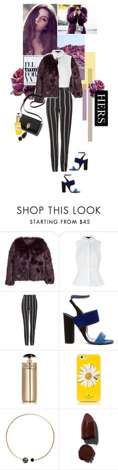 """""""yours truly."""" by iheartfashion97 ❤ liked on Polyvore featuring H&M, Alexander Wang, Topshop, Paul Andrew, Prada, Kate Spade, Artelier by Cristina Ramella, Lipstick Queen, Universal Lighting and Decor and women's clothing"""
