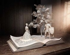 Noble Books, Paper Art, Paper Crafts, Iron Orchid Designs, Sculpey Clay, Crafts Beautiful, Photoshop Photos, Fantasy Illustration, Photo Retouching