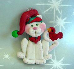 Polymer Clay  Milestone Christmas Ornament
