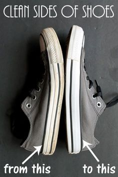Clean the Sides of Shoes