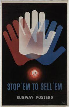 """Stop 'Em to Sell 'Em 1947 Técnica: Litografia Dimensão:45 1/4 x 29"""" (114.9 x 73.7 cm)"""