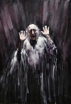 """""""Waterfall"""" oil on canvas - Valerio D'Ospina Tinta China, Western Art, Macabre, Dark Art, Contemporary Artists, Saatchi, Oil On Canvas, Scary, Horror"""