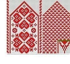 VK is the largest European social network with more than 100 million active users. Crochet Mittens Free Pattern, Knit Mittens, Knitted Gloves, Knitting Socks, Knitting Charts, Knitting Patterns, Diy Crafts Knitting, Fair Isle Knitting, Loom Beading