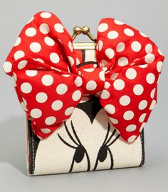 Minnie Mouse wallet!