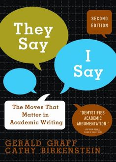 40 best academic writing images on pinterest academic writing bestseller books online they say i say the moves that matter in academic writing fandeluxe Gallery