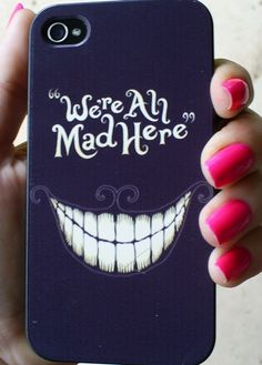 Alice In Wonderland - Hard plastic phone case for the iPhone iPhone iPhone iPhone - Cute and perfect for girls