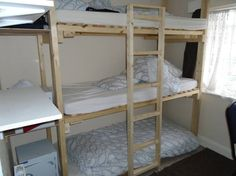 Bunk beds - Get $25 credit with Airbnb if you sign up with this link http://www.airbnb.com/c/groberts22