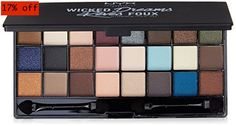NYX PROFESSIONAL MAKEUP Wicked Dreams Collection     Price:	$12.48 Best Makeup Palettes, Eye Palettes, Makeup Palette Storage, Beauty Glazed, Too Faced Makeup, Eyeshadow Brushes, All About Eyes, Jewel Tones, Professional Makeup