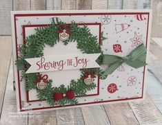 Ready For Christmas by Stampin Up. Created by UK Independent Demonstrator Teri Pocock. Click through for more details.#teripocock #stampinup #stampinupuk #readyforchristmas